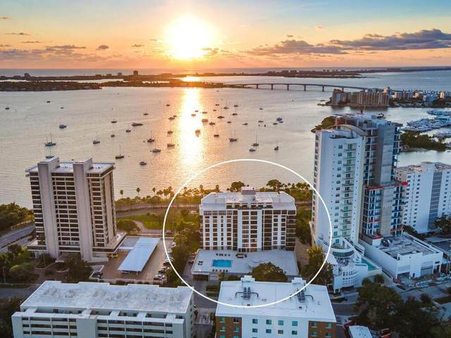 707 S Gulfstream Avenue #708, Sarasota, FL 34236 (MLS #A4481091) :: Alpha Equity Team