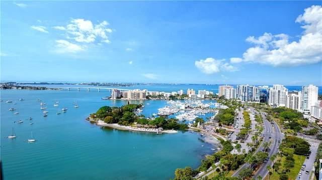 605 S Gulfstream Avenue 8 S, Sarasota, FL 34236 (MLS #A4490234) :: Positive Edge Real Estate