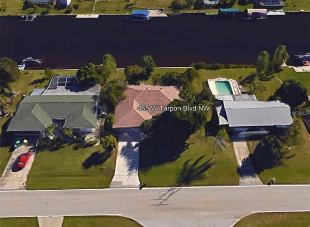 465 W Tarpon Blvd Nw, Port Charlotte, FL 33952 (MLS #C7249156) :: Team Pepka