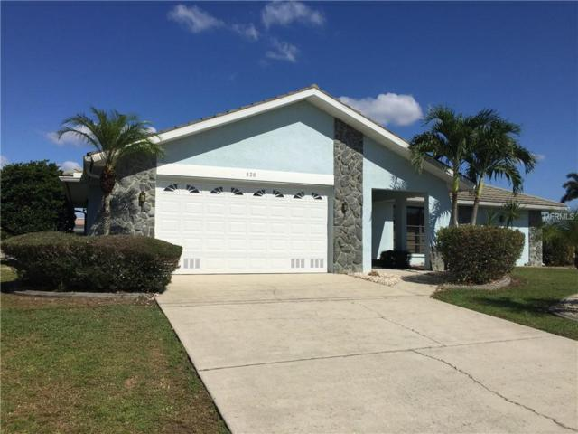 820 Santa Margerita Lane, Punta Gorda, FL 33950 (MLS #C7404276) :: GO Realty