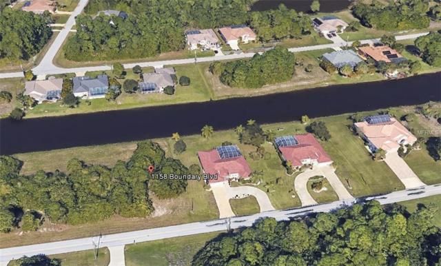 1158 Boundary Boulevard, Rotonda West, FL 33947 (MLS #D6105130) :: RE/MAX Realtec Group