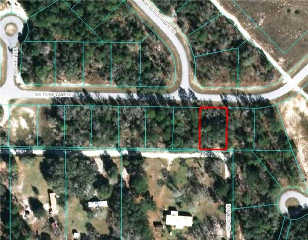 0 SW 153RD LN Road, Ocala, FL 34473 (MLS #G4847249) :: Ideal Florida Real Estate
