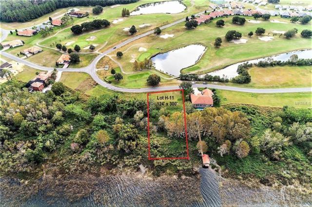 Lot H-11 Island Club Drive, Deer Island, FL 32778 (MLS #G4848730) :: Delgado Home Team at Keller Williams