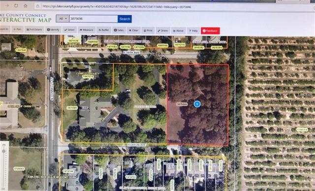 0 Fearon Avenue, Mount Dora, FL 32757 (MLS #G5011049) :: Delgado Home Team at Keller Williams