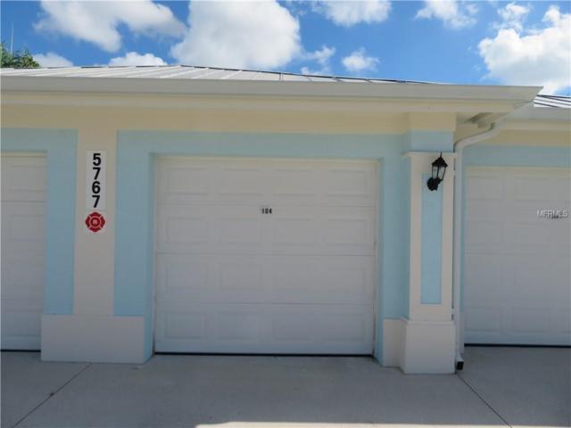 5767 Sabal Trace Drive #104, North Port, FL 34287 (MLS #N6102380) :: KELLER WILLIAMS CLASSIC VI