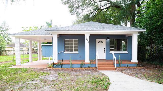 1805 E Frierson Avenue, Tampa, FL 33610 (MLS #T3222188) :: Lockhart & Walseth Team, Realtors