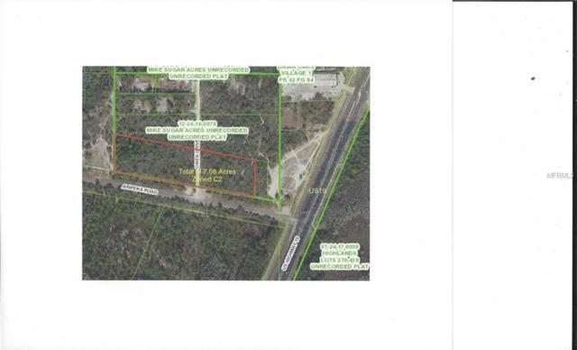 Aripeka Road, Hudson, FL 34667 (MLS #U7812799) :: The Duncan Duo Team