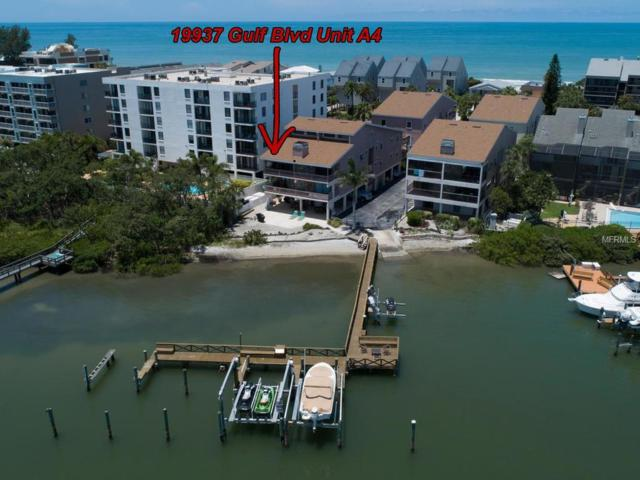 19937 Gulf Boulevard A4, Indian Shores, FL 33785 (MLS #U8007029) :: The Duncan Duo Team