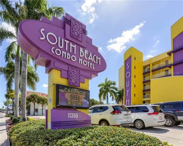 11360 Gulf Boulevard #304, Treasure Island, FL 33706 (MLS #U8032919) :: The Duncan Duo Team