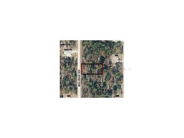 LOT 5 Malibar Road, Weeki Wachee, FL 34614 (MLS #W7537035) :: Griffin Group