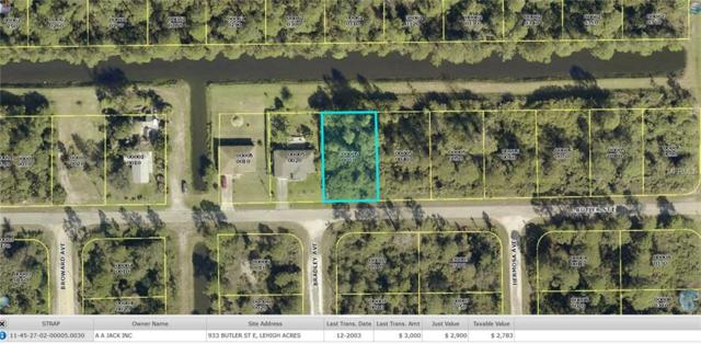 933 Butler Street E, Lehigh Acres, FL 33974 (MLS #W7618583) :: The Edge Group at Keller Williams