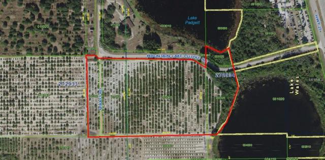 0 Mountain Lake Cuttoff Road, Lake Wales, FL 33853 (MLS #L4902907) :: The Duncan Duo Team