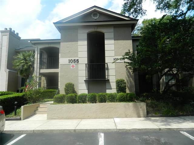 1055 Kensington Park Drive #107, Altamonte Springs, FL 32714 (MLS #O5938113) :: Tuscawilla Realty, Inc