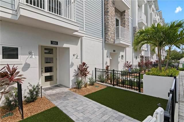 504 Laurel Park Drive, Sarasota, FL 34236 (MLS #T3264567) :: McConnell and Associates