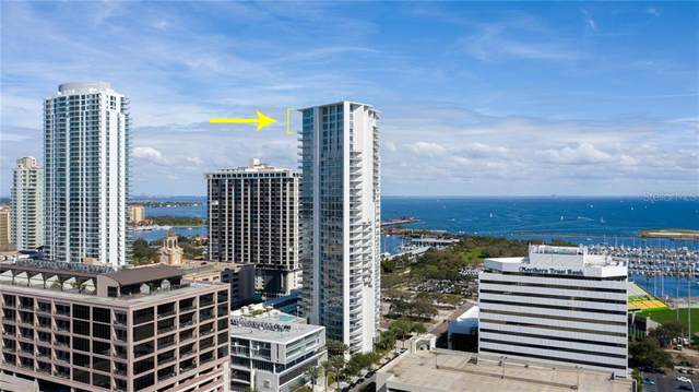 175 1ST Street S #3405, St Petersburg, FL 33701 (MLS #U8061712) :: The Light Team