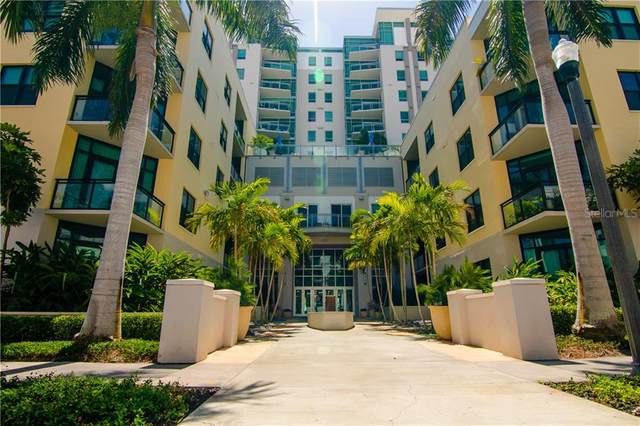 400 4TH Avenue S #1107, St Petersburg, FL 33701 (MLS #U8099901) :: The Light Team