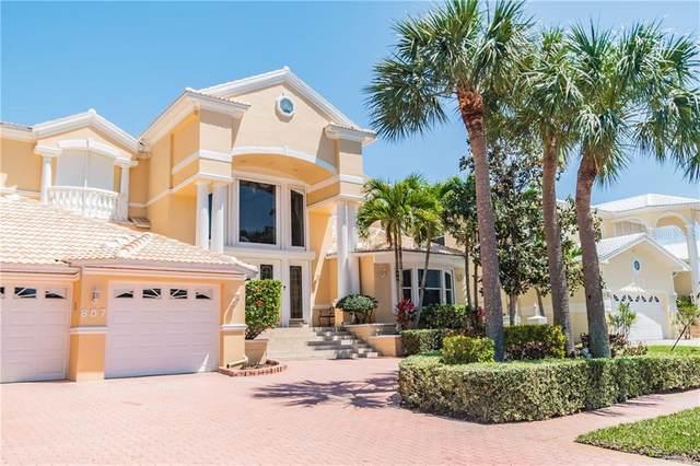 807 Harbor Island, Clearwater Beach, FL 33767 (MLS #U8116694) :: Charles Rutenberg Realty