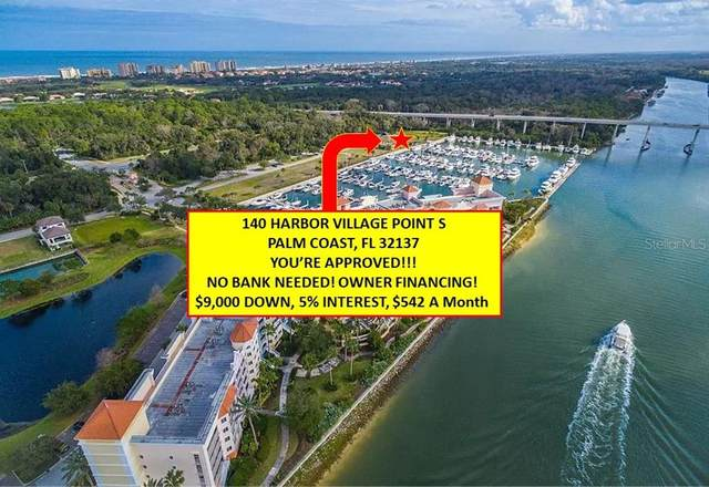 140 Harbor Village Point S, Palm Coast, FL 32137 (MLS #V4918153) :: Lockhart & Walseth Team, Realtors