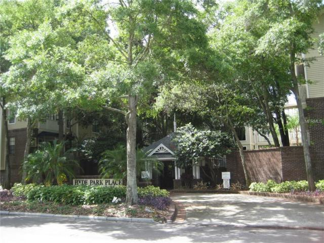 1000 W Horatio Street #125, Tampa, FL 33606 (MLS #T3158275) :: The Duncan Duo Team