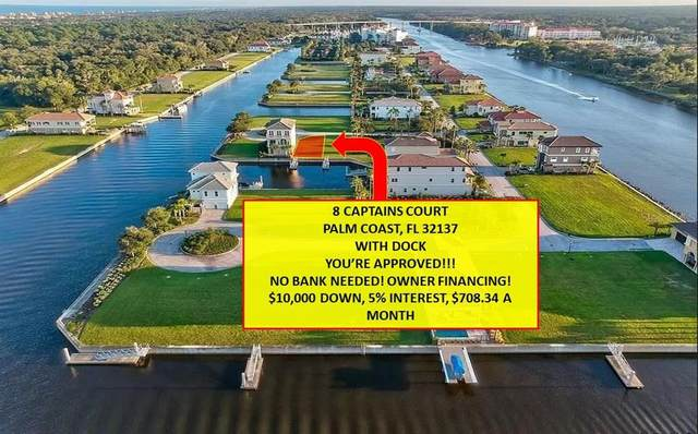 8 Captains Court, Palm Coast, FL 32137 (MLS #V4909363) :: Bob Paulson with Vylla Home