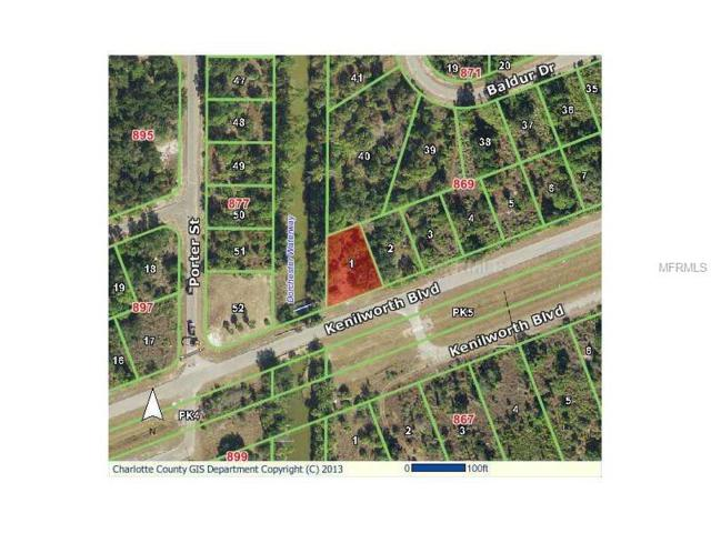 20500 Kenilworth Boulevard, Port Charlotte, FL 33954 (MLS #D5795983) :: Mark and Joni Coulter | Better Homes and Gardens