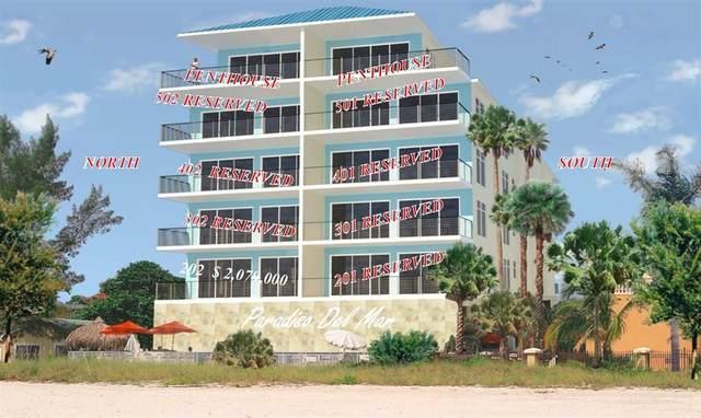 19738 Gulf Boulevard 401-S, Indian Shores, FL 33785 (MLS #U8030841) :: Frankenstein Home Team