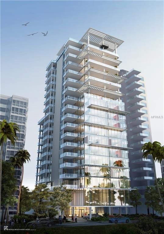 605 S Gulfstream Avenue 8N, Sarasota, FL 34236 (MLS #A4400902) :: The Duncan Duo Team