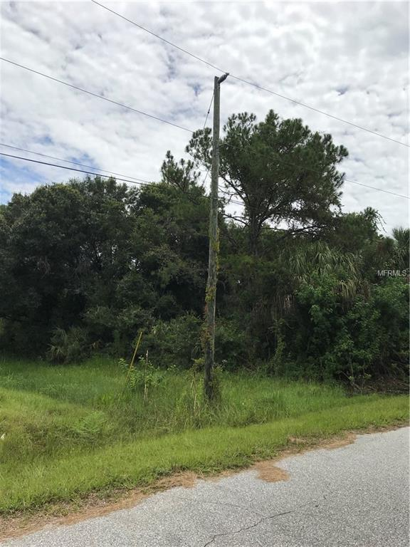 Lolly Lot 5 Road, North Port, FL 34286 (MLS #A4408318) :: The Duncan Duo Team
