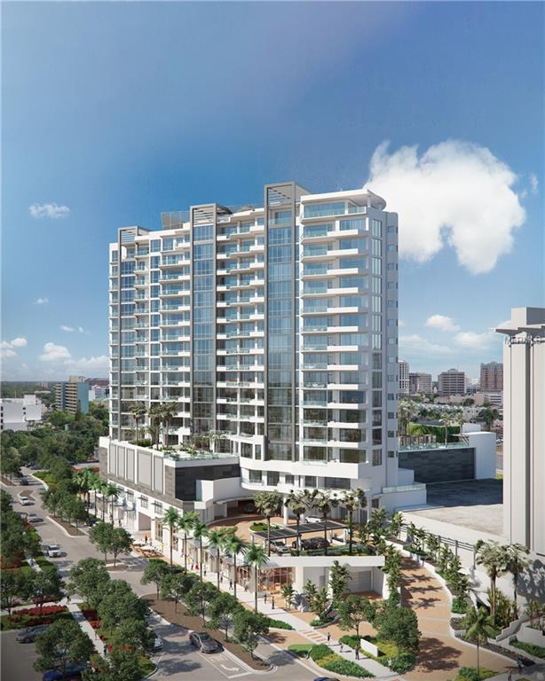 1100 Blvd Of The Arts Boulevard 6C, Sarasota, FL 34236 (MLS #A4427318) :: Sarasota Gulf Coast Realtors