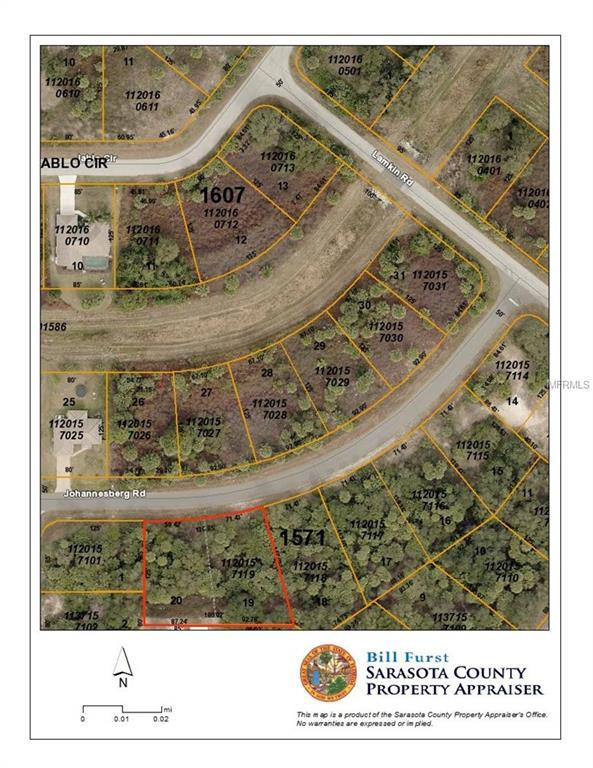 Lots 19 & 20 Johannesberg Road, North Port, FL 34288 (MLS #A4431280) :: Burwell Real Estate