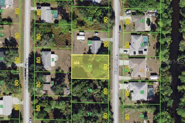 337 Hinton Street, Port Charlotte, FL 33954 (MLS #A4446136) :: White Sands Realty Group