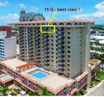 101 S Gulfstream Avenue 15G, Sarasota, FL 34236 (MLS #A4450628) :: 54 Realty