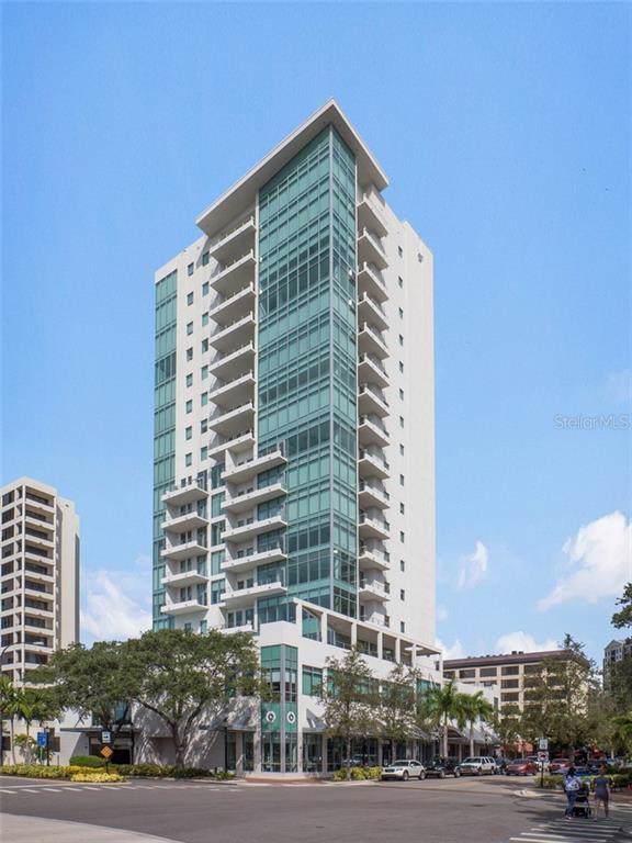 1301 Main Street #501, Sarasota, FL 34236 (MLS #A4451533) :: Zarghami Group