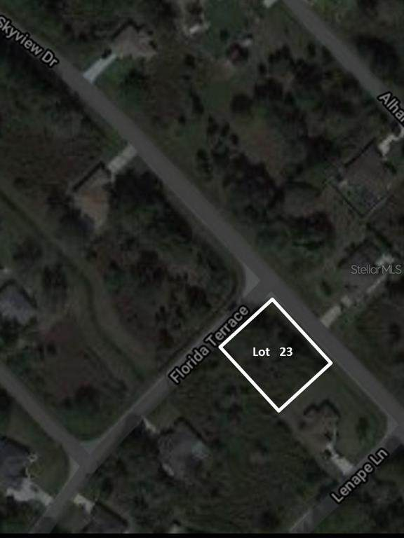 Lot #23 Florida Terrace, North Port, FL 34291 (MLS #A4477434) :: CENTURY 21 OneBlue