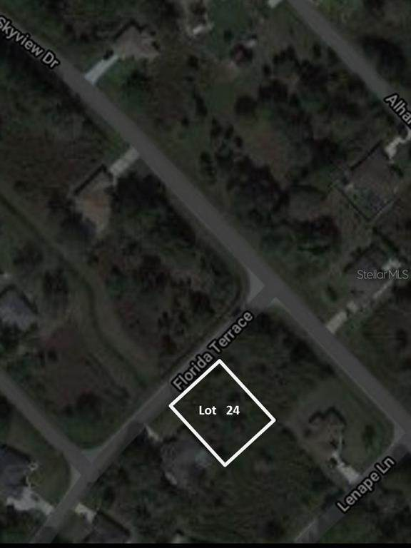 Lot #24 Florida Terrace, North Port, FL 34291 (MLS #A4477436) :: CENTURY 21 OneBlue