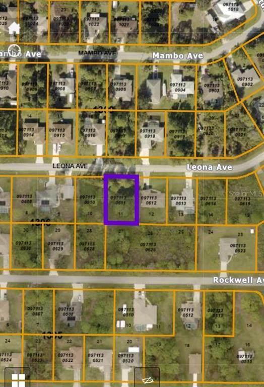 8313 Leona, North Port, FL 34291 (MLS #A4497234) :: Young Real Estate