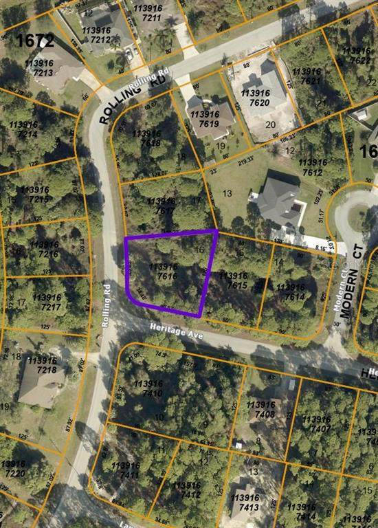 Heritage Avenue, North Port, FL 34288 (MLS #A4498720) :: The Lersch Group