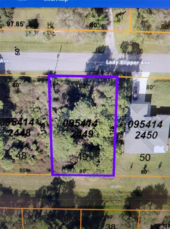 Lot 49 Lady Slipper Avenue, North Port, FL 34291 (MLS #A4501907) :: The Price Group