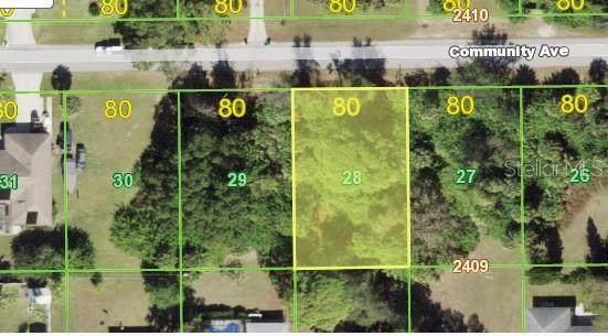 15193 Community Avenue, Port Charlotte, FL 33953 (MLS #A4508841) :: Godwin Realty Group