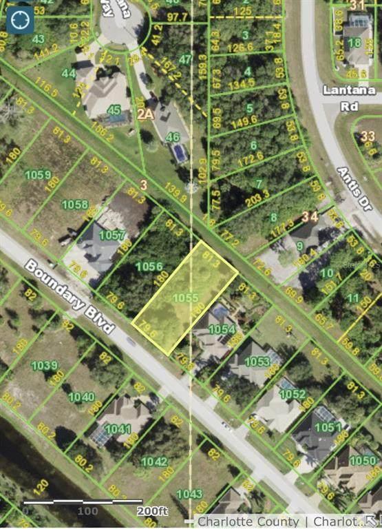 705 Boundary Boulevard, Rotonda West, FL 33947 (MLS #A4512354) :: Charles Rutenberg Realty