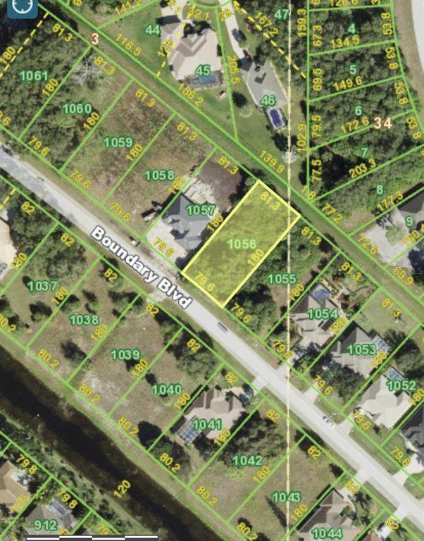 703 Boundary Boulevard, Rotonda West, FL 33947 (MLS #A4512398) :: Charles Rutenberg Realty