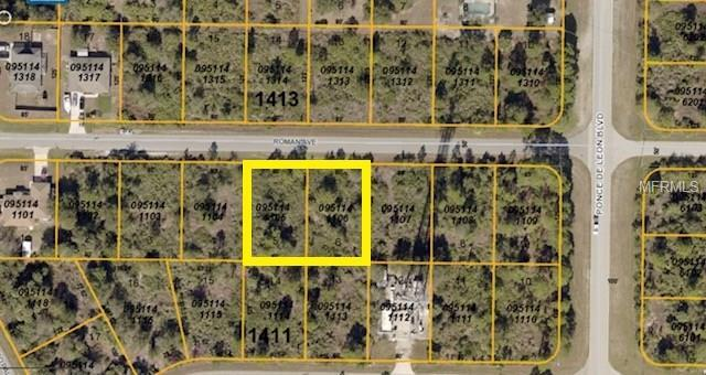 Lots 5 & 6 Roman Avenue, North Port, FL 34291 (MLS #C7247604) :: Griffin Group
