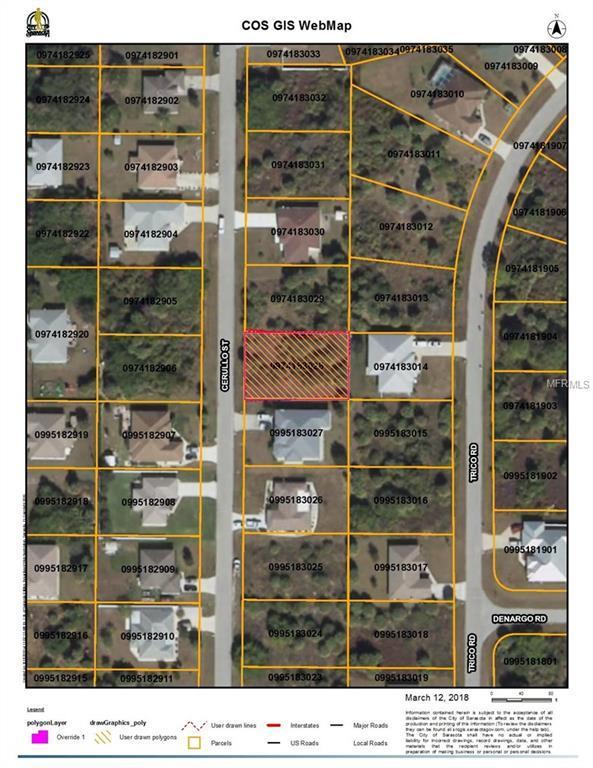 Cerullo Street, North Port, FL 34287 (MLS #C7250405) :: Godwin Realty Group