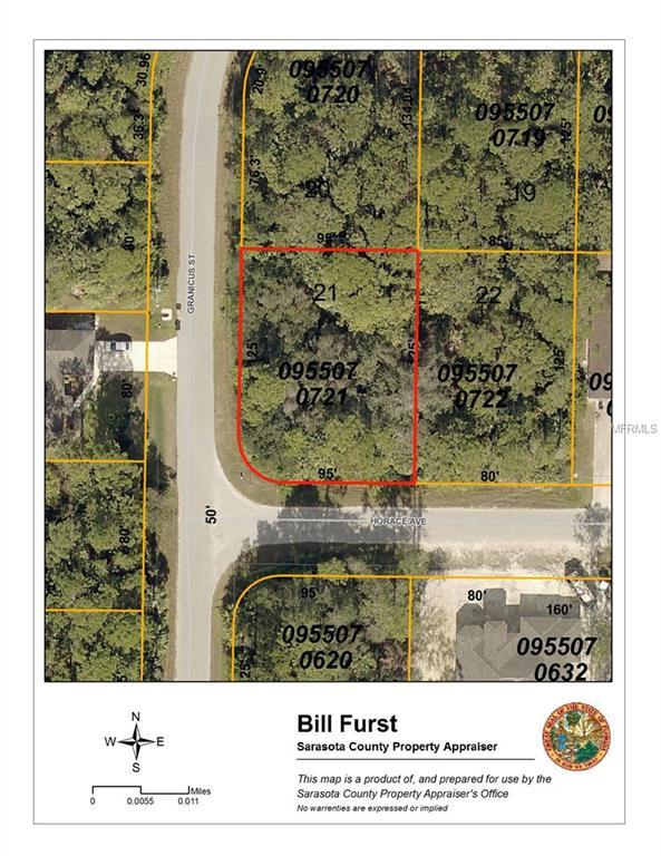 Horace Avenue, North Port, FL 34286 (MLS #C7250636) :: White Sands Realty Group