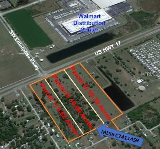 SW Hwy 17, Arcadia, FL 34269 (MLS #C7411459) :: RE/MAX Realtec Group