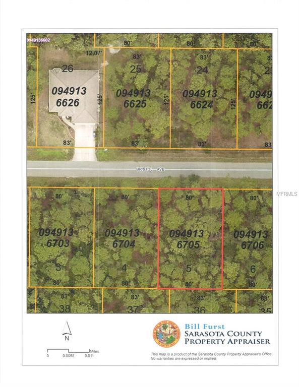 8517 Bristol (Lot 5) Avenue, North Port, FL 34291 (MLS #C7412324) :: Burwell Real Estate