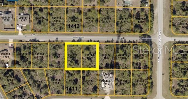 Lots 5 & 6 Roman Avenue, North Port, FL 34291 (MLS #C7417074) :: Cartwright Realty