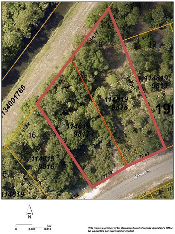 4148 & 4136 Mattox (Lot 17 & 18) Circle, North Port, FL 34288 (MLS #C7420005) :: Cartwright Realty