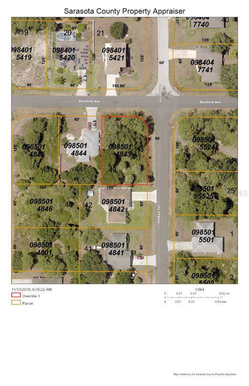 Bluebird Avenue, North Port, FL 34286 (MLS #C7422365) :: Medway Realty
