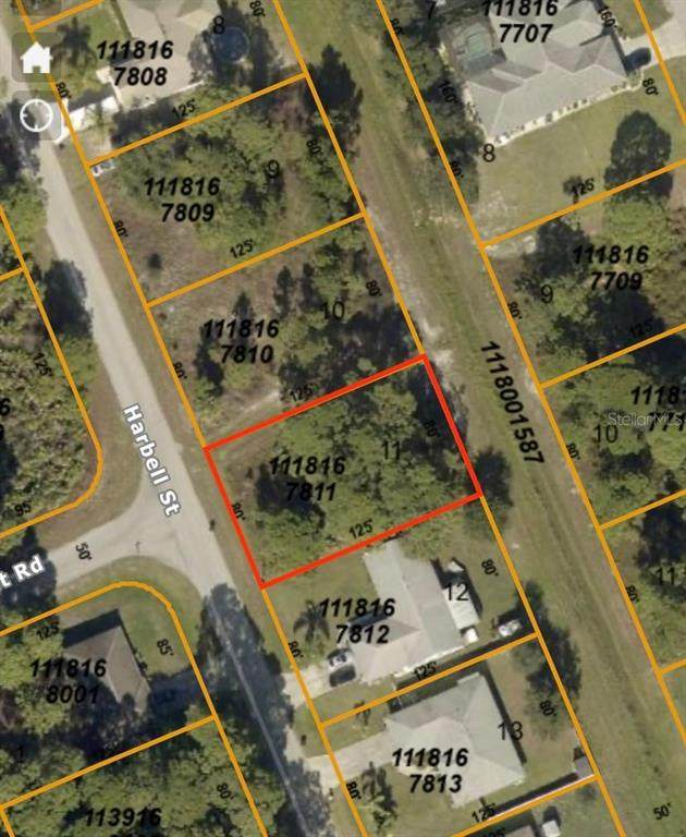 Harbell Street, North Port, FL 34288 (MLS #C7426802) :: Team Bohannon Keller Williams, Tampa Properties